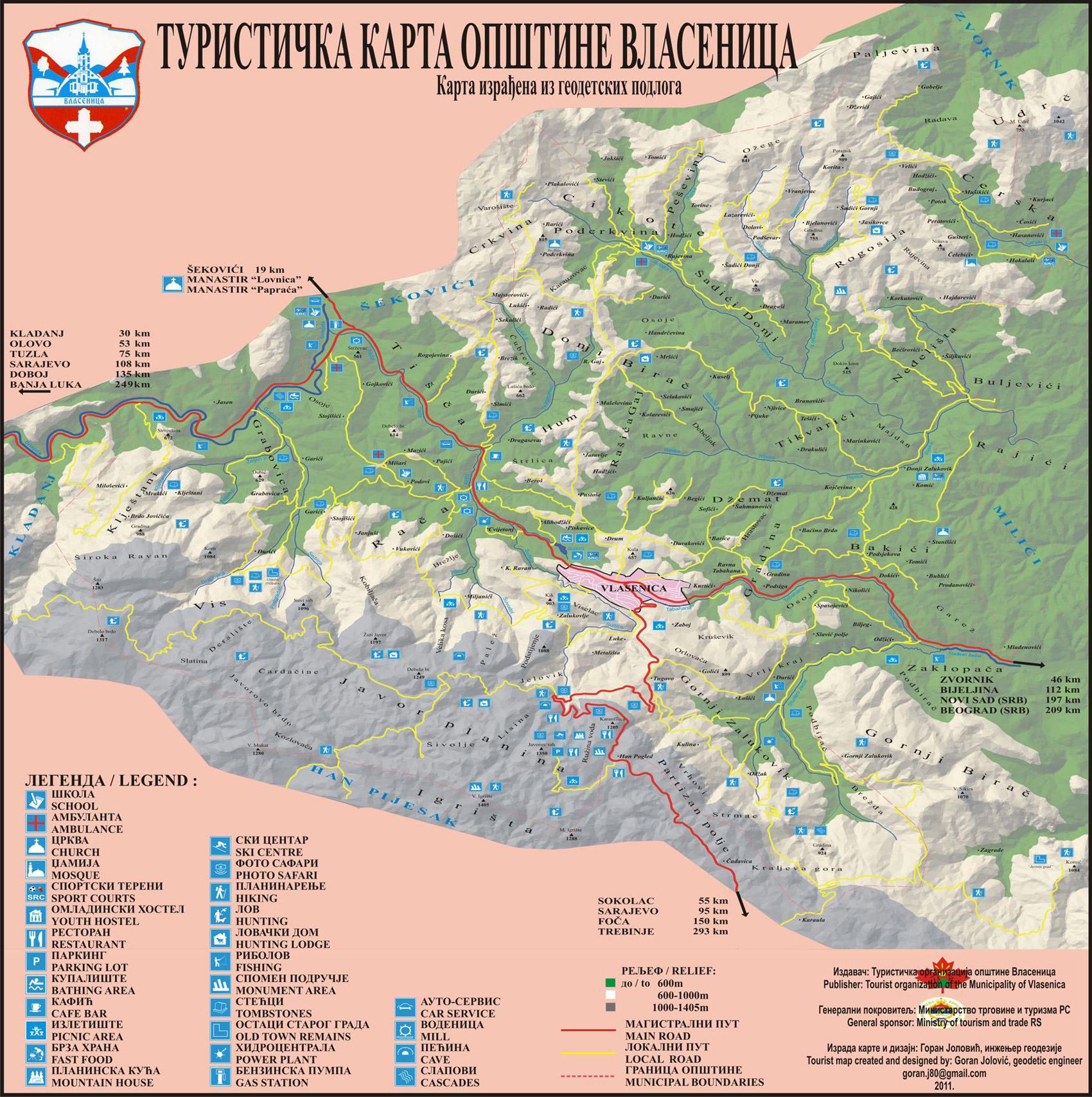 Karte Besplatne Online Dinarsko Gorje