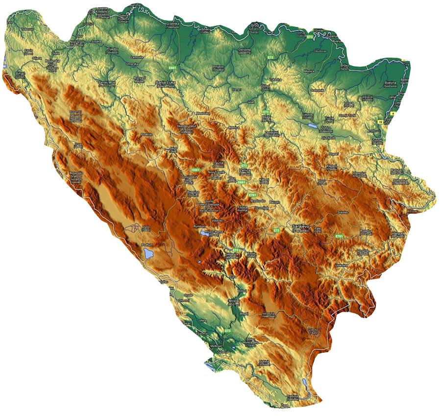 Reljef Bosne I Hercegovine