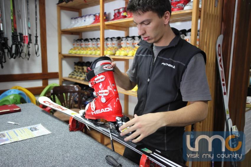 ski rental i servis