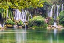 Vodopad Kravice i rijeka Trebižat