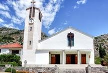 Hutovo-Neum / Zavičajna spomen kuća i crkva Krista Kralja